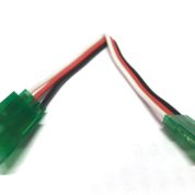 TY1 SERVO EXTENSION LEAD 100MM GREEN 60STR TY405410G