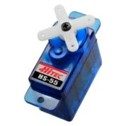 HITEC HS 55 FEATHER SERVO 7.5G BLUE