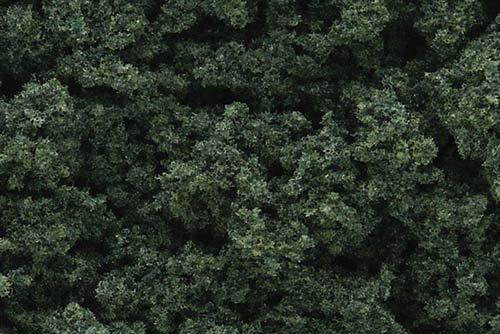 WOODLAND SCENICS  FC684 CLUMP FOLIAGE DARK GREEN