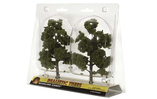 WOODLAND SCENICS  TR1112 REALISTIC TREE KIT 3-7