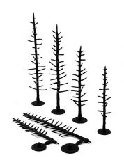 WOODLAND SCENICS  TR1124 PINE TREE ARMATURES 2.5