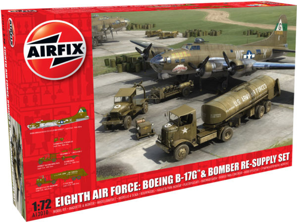 EIGHTH AIR FORCE 1/72 AIRFIX 12010 Plastic Model Kit