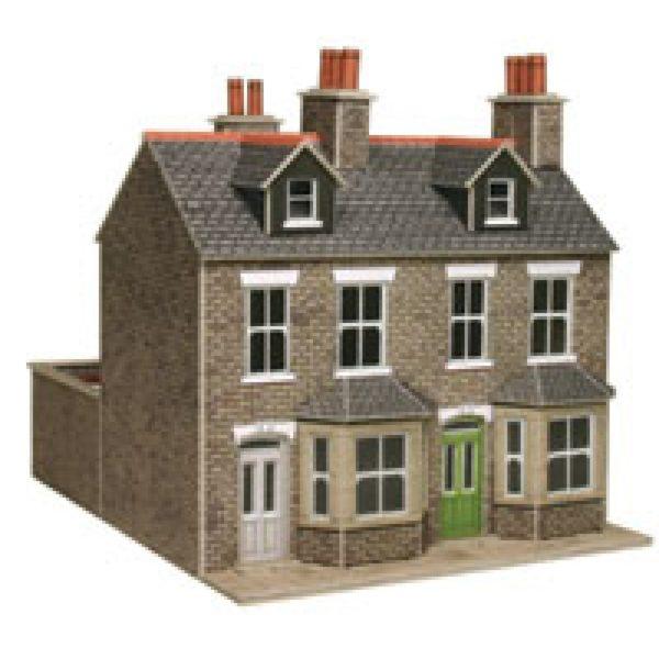 METCALFE PO262 TERRACED HOUSES STONE