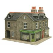 METCALFE PO264 TERRACED CORNER SHOP STONE