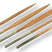 PERMA-GRIT LNF1   5 LARGE NEEDLE FILES SET of 5 x 180MM