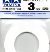 TAMIYA MASKING CURVES 3MM TAPE 87178