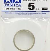 TAMIYA 5MM CURVES MASKING TAPE 87179