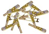 SULLIVAN S527 CLEVIS STEEL 2-56 12PCS