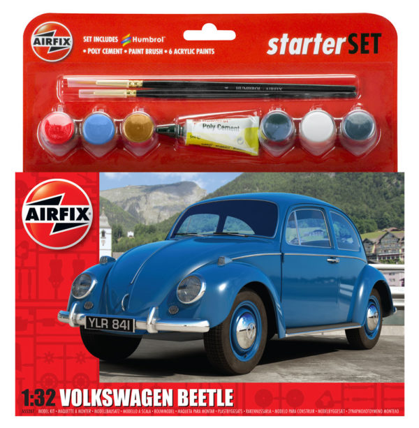 VW BEETLE 1/32 AIRFIX 55207 Plastic Model Kit