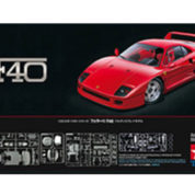 FERRARI F40 KIT TAMIYA T24295 Plastic Model Kit