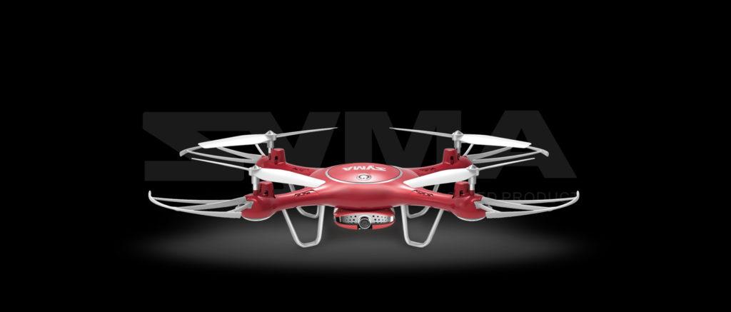 SYMA X5UW 720P FPV DRONE (HEADLESS MODE & ALTITUDE CONTROL)