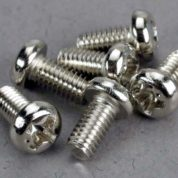 2558 (PART) TRAXXAS ROUND/PINHEAD 3X6MM
