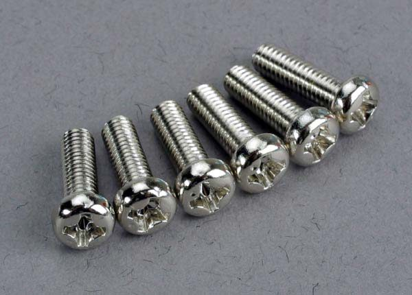 2560 (PART) TRAXXAS ROUND/PANHEAD 3X10MM