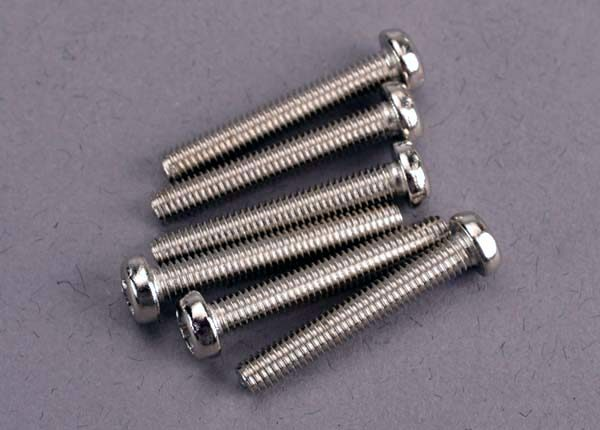 2566 (PART) TRAXXAS ROUND/PANHEAD 3X20MM
