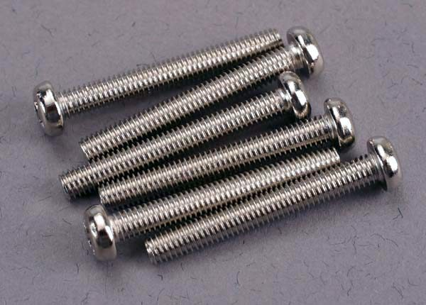 2567 (PART) TRAXXAS SCREW 3X23MM ROUNDHEAD