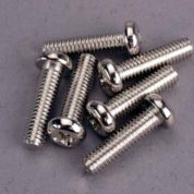 2573 (PART) TRAXXAS ROUND/PANHEAD 4X15MM