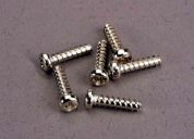 2673 (PART) TRAXXAS SCREWS 2.6X10MM ROUNDHEA