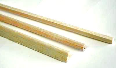 BALSA WOOD STICK  3 X 12.5  X 915