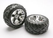 5576R (PART) TRAXXAS TYRES & WHEELS ASSEMBLED