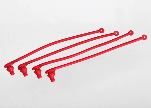 5752 (PART) TRAXXAS BODY CLIP RETAINER RED 4