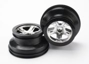 5874 (PART) TRAXXAS WHEELS SATIN CHROME