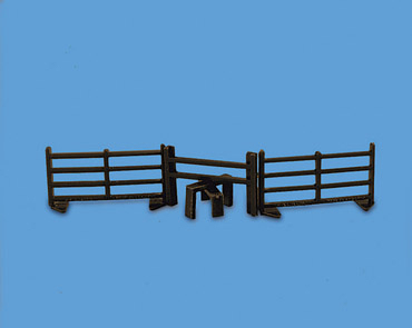 MODEL SCENE 5024 OO STILE WITH TWO FENCES HO