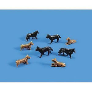 MODEL SCENE OO DOGS HO 5102