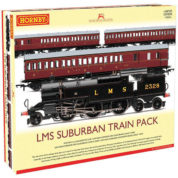 HORNBY LMS SUBURBAN PASSENGER TRAIN PACK ERA 3 LIMITED EDITION R3397