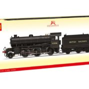 Hornby R3418 Class K1 2-6-0 62006 in BR black with BRITISH RAILWAYS lettering