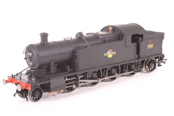 Hornby R3464 Class 72xx 2-8-2 7224 in BR Black with late crest