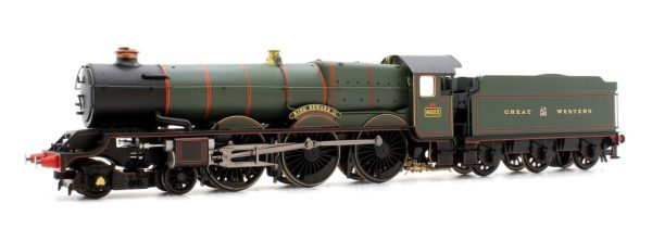 """Hornby R3534 Class 6000 'King' 4-6-0 6023 """"King Edward II"""" in GWR green with garter crest"""