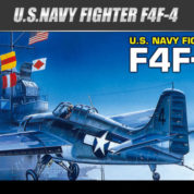 Academy 1/72 Scale F4F-4 Wildcat US Navy Fighter 12451