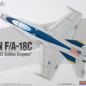 Academy 1/72 F/A-18C Hornet VFA-192 Golden Dragons Kit 12564