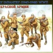 ZVAZDA 1/35 RED ARMY INFANTRY 1940-42 3526