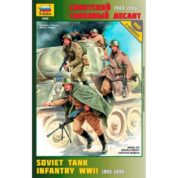 ZVEZDA 1/35 SOVIET TANK INFANTRY WWII 3544