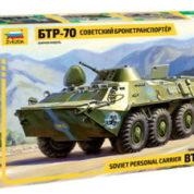 ZVEZDA 1/35 BTR-70 SOVIET APC 3556