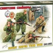 ZVEZDA 1/35 SOVIET SNIPER TEAM 3597