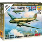ZVEZDA 1/200 LI-2 SOVIET TRANSPORT KIT 6140