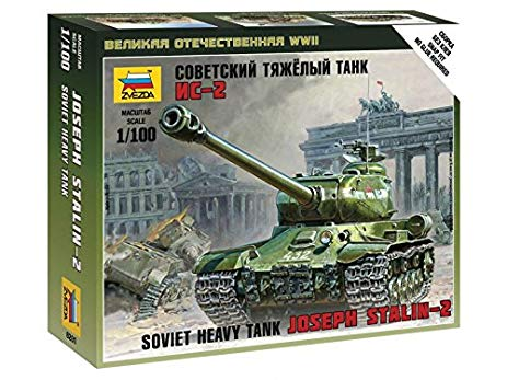ZVEZDA 1/100 IS-2 STALIN KIT 6201