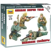 ZVEZDA 1/72 GERMAN SNIPER TEAM KIT 6217