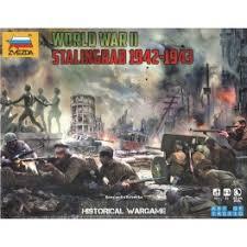 ZVEZDA WARGAMES BATTLE OF STALINGRAD KIT 6260