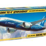 ZVEZDA 1/144 BOEING 787 DREAMLINER KIT 7008