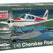 1/48 PIPER CHEROKEE FLOAT PLAN MINICRAFT Plastic Model Kit (11674)