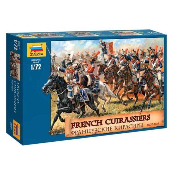 ZVEZDA 1/72 FRENCH CUIRASSIERS 1812 KIT 8037