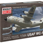 1/144 C130J USAF W/2 MARKING MINICRAFT Plastic Model Kit (14589)