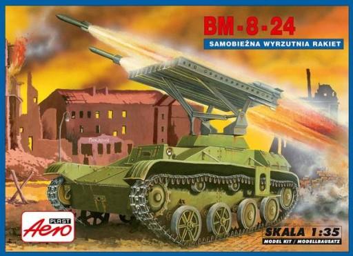 MISTERCRAFT 1/72 BM-8M-24 KATHJUSHA KIT A-097