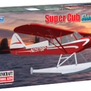 1/48 PIPER SUPER CUB FLOAT PLA MINICRAFT Plastic Model Kit (11663)