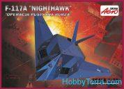 MISTERCRAFT 1/72 F-117A NIGHTHAWK KIT A-141