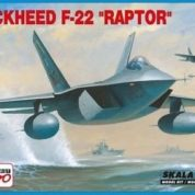 MISTERCRAFT 1/72 F-22A RAPTOR KIT A-219