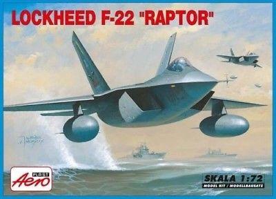 MISTERCRAFT 1/72 F-22A RAPTOR KIT A-219
